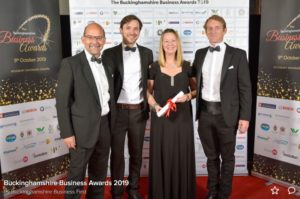 Team Bucks Business Awards Photo