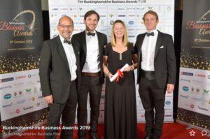 Team Bucks Business Awards Photo