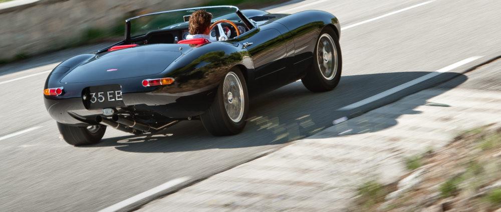 Eagle speedster car being driven