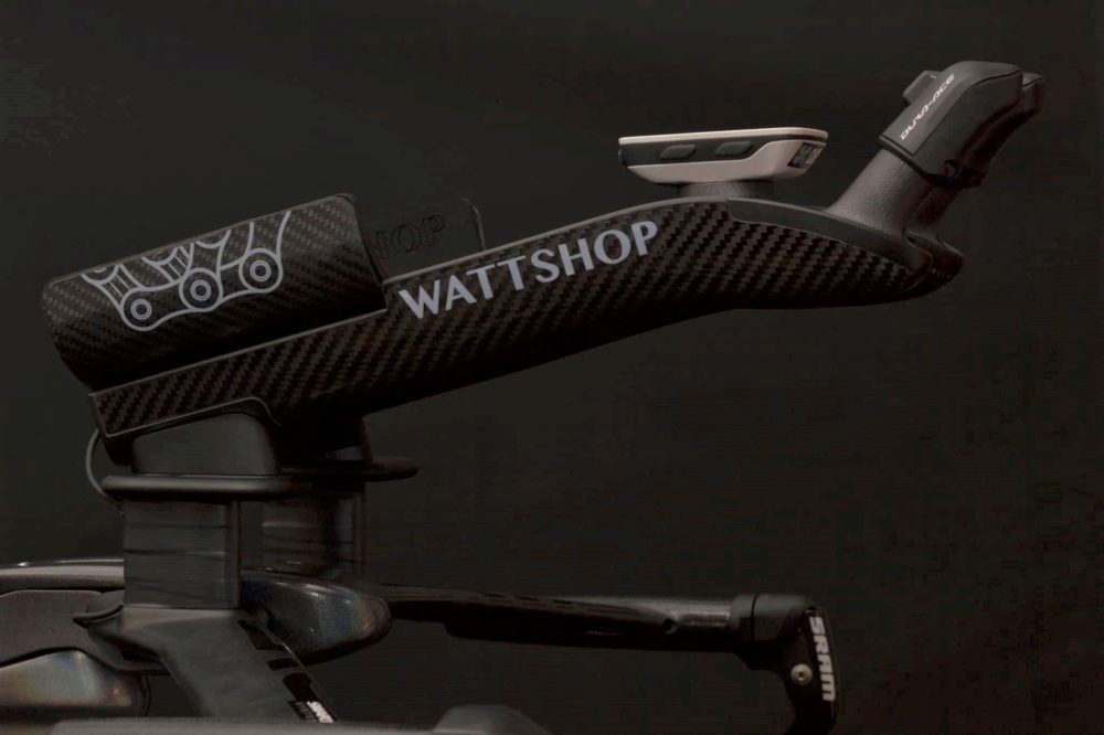 Dark image of a high performance bike part